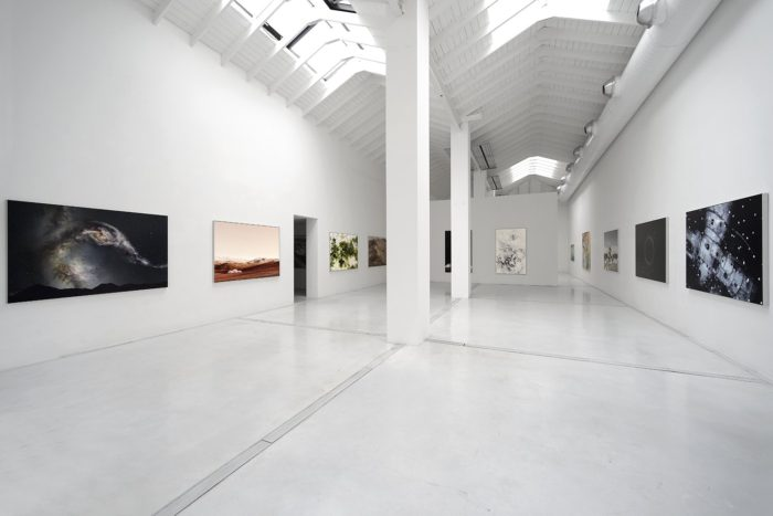 Installation view – outer space, 2015