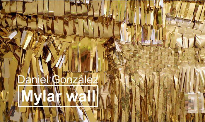 González, tapestry invitation, courtesy Studio Daniel Gonzalez